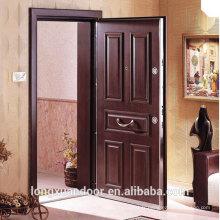 Panneau personnalisé Porte blindée, portes turques en acier Portes pivotantes extérieures