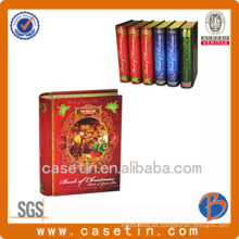 Lámpara de forma de libro para paquete o promoción de té