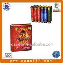Forme du livre pour le paquet ou la promotion du thé