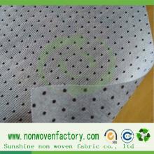 Non-tissé antidérapant de tissu non-tissé de PVC