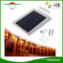 Lampe de sonde actionnée solaire extérieure de lumière de sécurité de mur de yard de jardin
