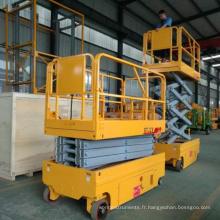 6-14m 200kg pas cher prix hydraulique batterie puissance ascenseur électrique ciseaux ascenseur avec CE ISO certification