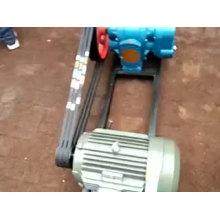 Bomba de jabón de bomba de aceite crudo de alta viscosidad LC bomba de lóbulo rotativo horizontal