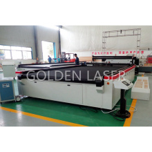 Golden Laser Fabric Cutting Machine with Conveyor