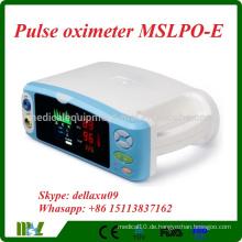 MSLPO-E Tabletop Patienten Pulsoximeter / Fingerspitze Pulsoximeter
