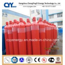 Cylindre de gaz de CO2 à haute pression à haute pression et à haute pression