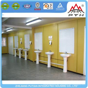 Atractivo diseño fácil instalación moderna prefabricado modular contenedor casa de baño