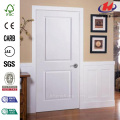 Solidoor Smooth 2-Panel Square Prehung Interior Door