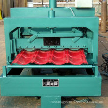 Panel Glazed Tiles Roll Forming Machine