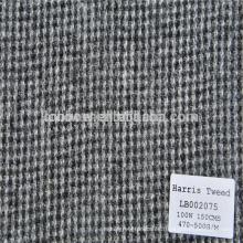 Diseñador Tweed abrigos de lana para hombres y mujeres Harris tweed