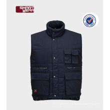 chaleco de seguridad del chaleco del workwear del invierno de la mejor calidad para hombre