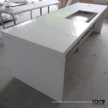 China prefab island kitchen countertops