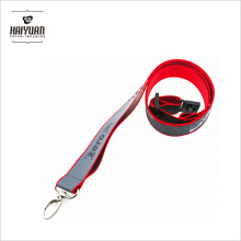 New Design Colorful Reflective Lanyard with Customed Logo
