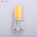 G9 Capsule LED 2W 210lm 4W 420lm puce COB