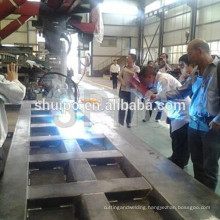 2015 high quality automatic welding robot for dumper truck
