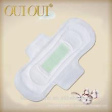 Almohadillas sanitarias esterilizadas con aniones algodonosos aprobados por la FDA