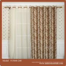 2016 nuevo estilo contemporáneo de la tela de la cortina material del poliester de la manera