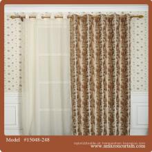 2016 novo estilo contemporâneo cortina tecido moda poliéster material