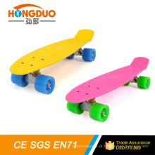 HongDuo 22 * 6 polegadas low moq skateboard