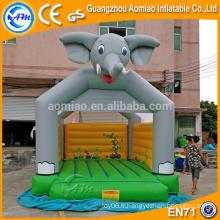 Elephant design gonflable animal bouncers / toys r us gonflable bouncers avec sauter château souffleur