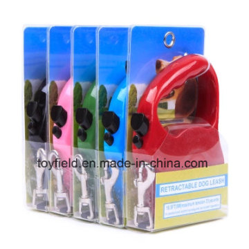Pet Collar Leash Portable Durable Retractable Dog Leash