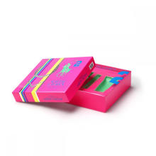 Caixa de Perfume Luxo Pakcaging com Bandeja para Garrafas