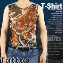 T-shirt de tatouage de conception originale