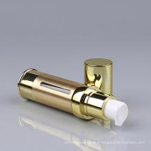 Bouteille en aluminium avec pompe à lotion sans air (NAB10)