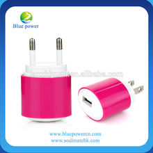 Wholesale Alibaba 5V 1A wall charger adapter for iphone and smartphone ,for iphone 5 charger mobile phone charger