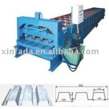 Steel structure floor machine