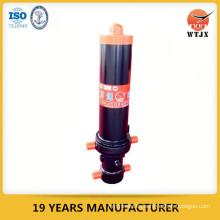 Cilindro hidráulico unidireccional, cilindro hidráulico de dirección del tractor, tubo pulido