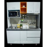 Hot Sale Hotel Mobile kitchen stainless steel Kitchen Cabinets