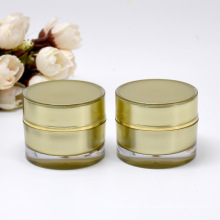 10g Coated Acrylic Double Wall Jar Luxury Cosmetic Packaging for Cream