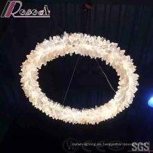 Lámpara colgante decorativa cristalina redonda del nuevo diseño 2016 con pasillo