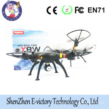 Drone Syma X8W WiFi Real Time Video and syma x8c 2.4G 4ch 6 Axis Venture with 2MP Camera RC Quadcopter FPV with Holder