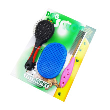 Best Price on for Pet Hair Grooming Good Pet Brush Set export to Algeria Supplier
