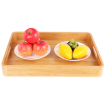 Wooden Restaurant Serving Dishes/Bamboo Fruit Plate