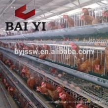 Exportación de jaula plegable de pollo Tres capas de cuatro capas Jaula de pollo