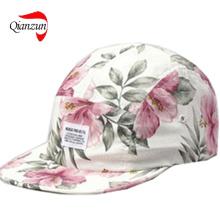 New Hawaii Pink Floral Yumn Adjustable Hats (LWC-396)