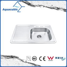 Asequible de acero inoxidable Moduled Sink (ACS8050CR)