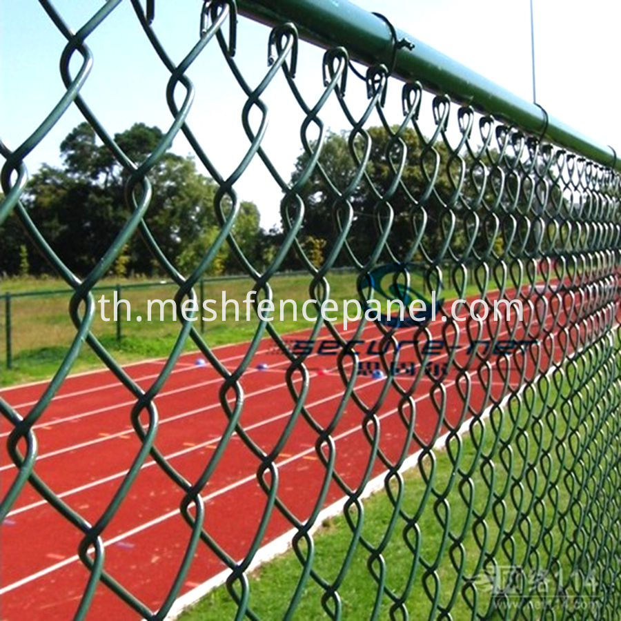 welded wire chain link mesh fence