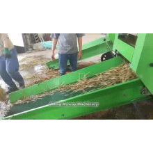 Full-automatic corn silage square baler machine