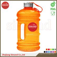 2.2L PETG botella de agua para la mezcla de polvo de proteínas