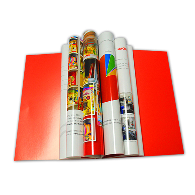 High Quality Printing Paper Brochure Flyer
