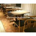 Table et chaise modernes pour le restaurant XYN2776