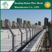 Stainless steel wire security security screening fence