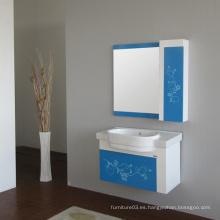 Gabinete de baño caliente del PVC de la venta con el certificado del CE