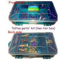 Ремонт двухуровневой татуировки машины комплект деталей