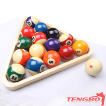 Factory made wholesale high quality billiard games TB-T-6 phenolic resin balls