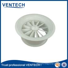 Hot Seling air diffuser Aluminum swirl diffuser Round Exhuast diffuser